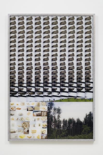 , 'Almost Like Rebar No. 2,' 2018, Tanya Bonakdar Gallery