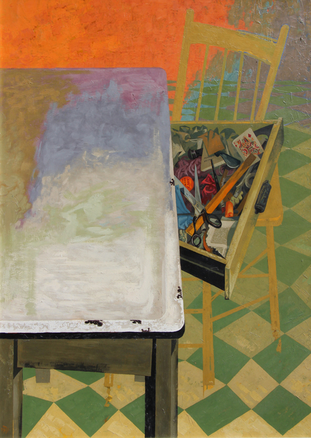 , 'Jenny Bell's Kitchen Table ,' 1971, Bau-Xi Gallery