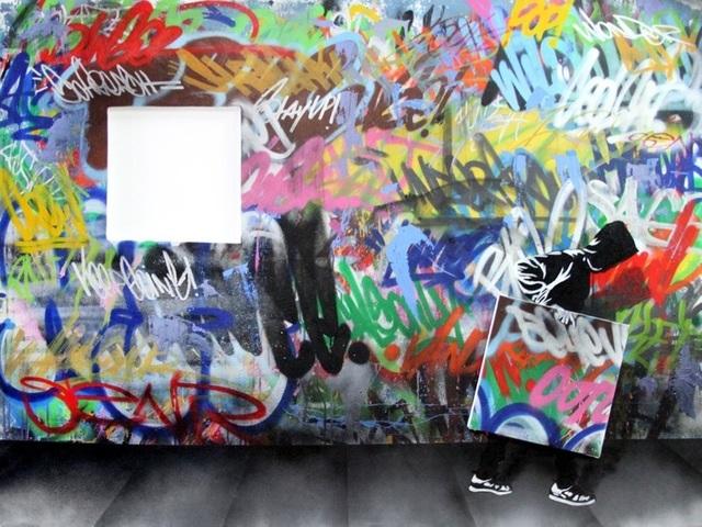 , 'Untitled Mural,' 2017, Contessa Gallery