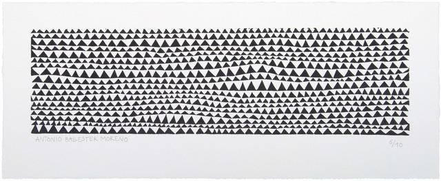 , 'Triángulos,' 2013, Polígrafa Obra Gráfica