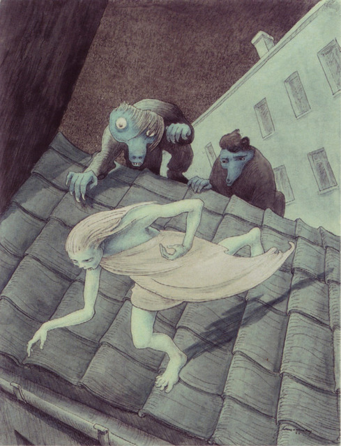 , 'Escaping Over the Roof,' 1955, Jason Jacques Gallery