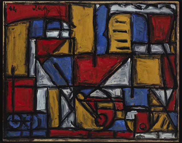 , 'Locomotora y maquinista,' 1944, Cecilia de Torres Ltd.