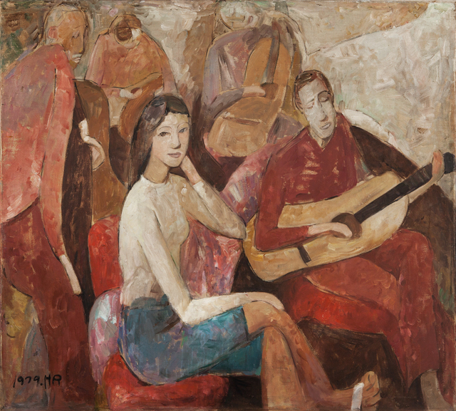 Huang Rui, 'The Guitar's Story', 1979, 10 Chancery Lane Gallery