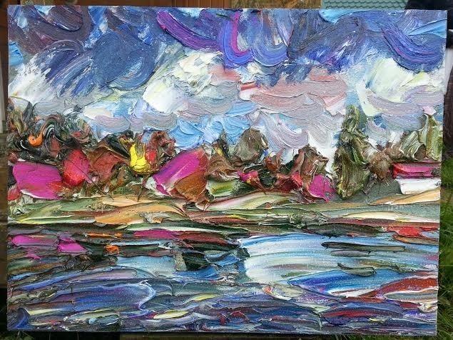 , 'Lake Zvenigorod,' 2013, Vasilisa Kameneva