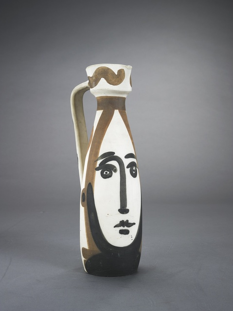 Pablo Picasso, 'Visage (A.R. 288)', 1955, Other, Terre de faïence pitcher, painted in colors, Sotheby's