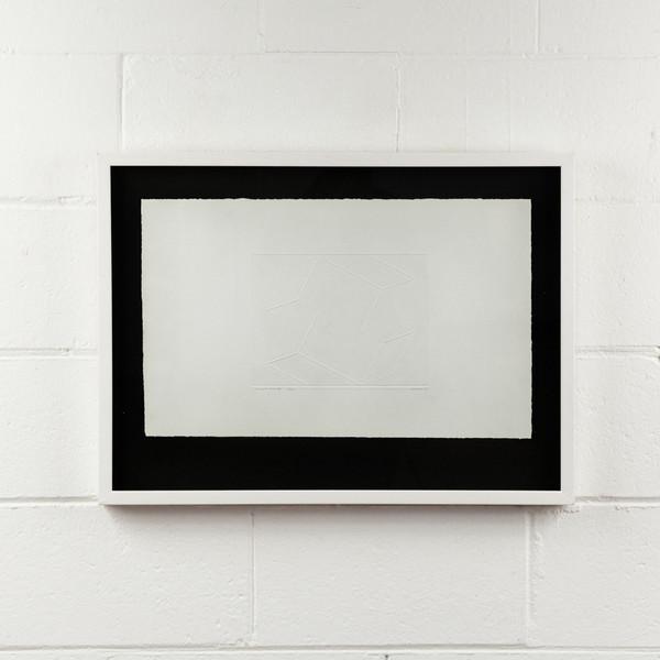 """Josef Albers """"INTAGLIO SOLO"""", 1962"""