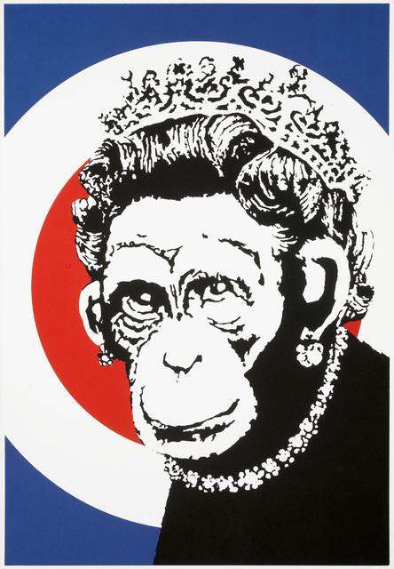 Banksy, 'Monkey Queen (Signed)', 2003, Prescription Art
