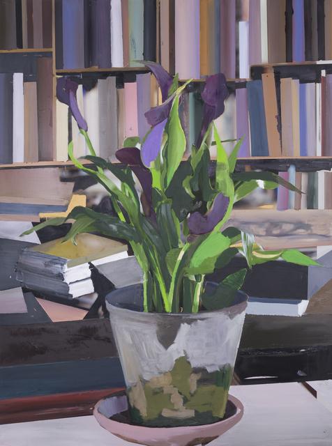 , 'The Exact Distance Between Flower and Bookshelf IV,' 2017, Hans Alf Gallery