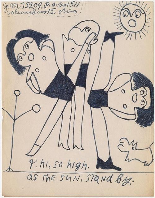 """, '""""I hi, so high"""",' n.d, Ricco/Maresca Gallery"""