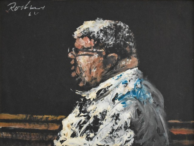 Noel Rockmore, 'Percy Humphrey, Trumpet Player (1905-1995)', 1966, Amanda Winstead Fine Art