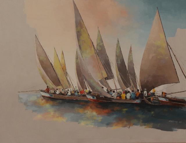 Ismael Kateregga, 'Dhow race', AKKA Project