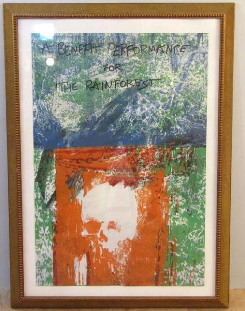 Robert Rauschenberg, 'GRATEFUL DEAD: A BENEFIT PERFORMANCE FOR THE RAINFOREST (Limited Edition, Signed) ', 1988, Alpha 137 Gallery