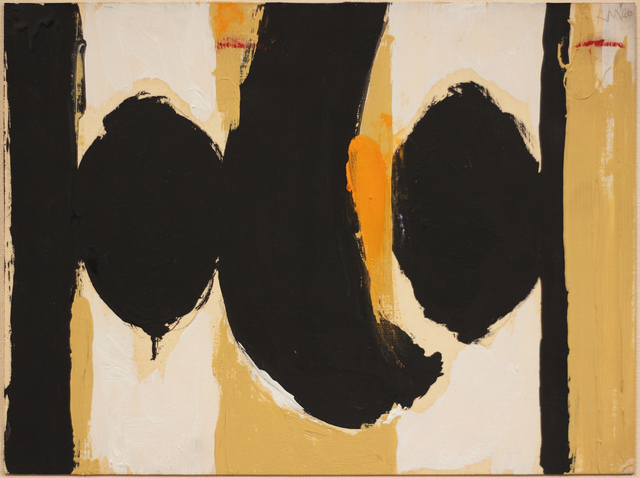 Robert Motherwell, 'Elegy to the Spanish Republic No. 60', 1960, Bernard Jacobson Gallery