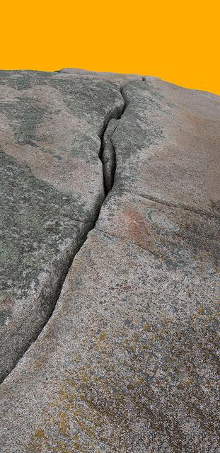 , 'Granite Fissure I Yellow / Lawrys Island,' 2013-2015, C. Grimaldis Gallery