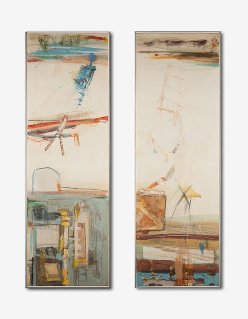 , 'Dos Veces en Las Ramblas (diptych),' 1960, Childs Gallery