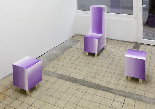 , 'L and Cubes,' 2016, Frankfurt Am Main