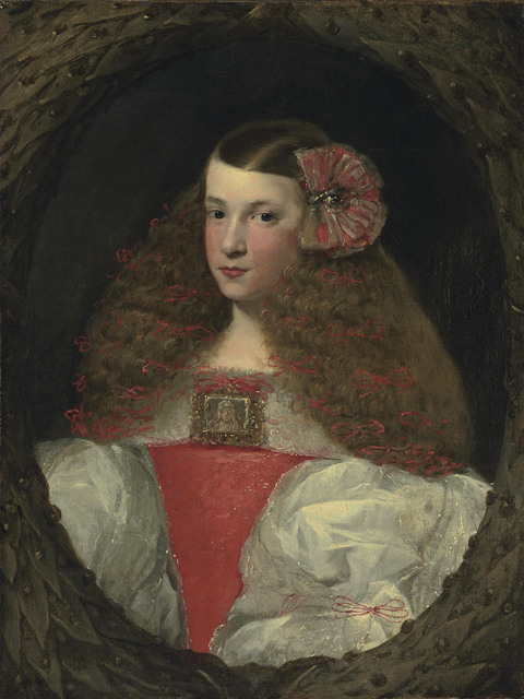 , 'Portrait of a young girl, half-length, in a feigned wreath,' Likely ca. 1670, Christie's Old Masters