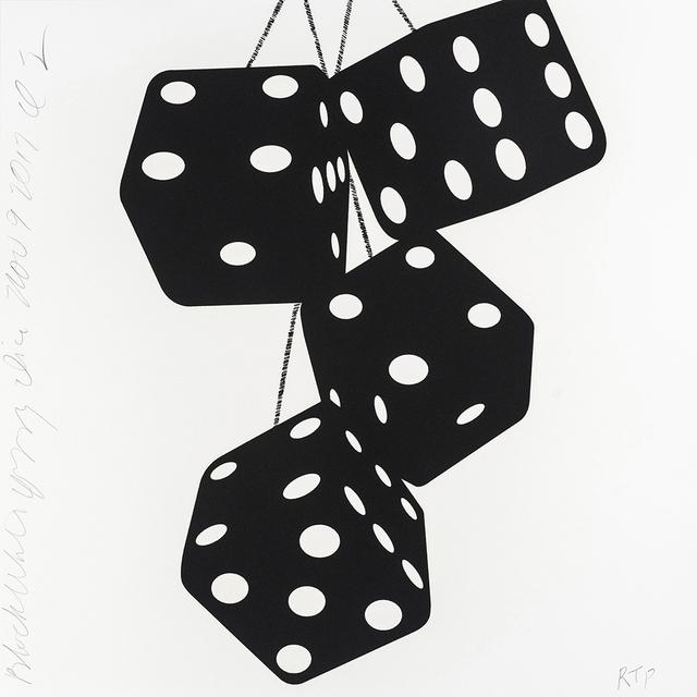 , 'Fuzzy Dice (Black and White Fuzzy Dice),' 2017, Maune Contemporary