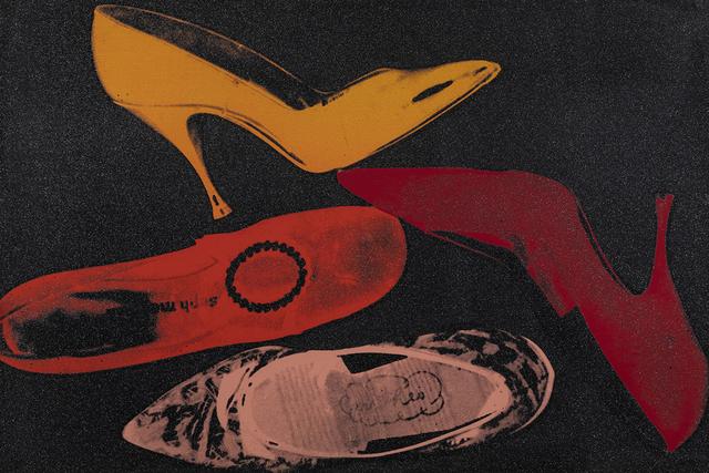 Andy Warhol, 'Diamond Dust Shoe (FS II.253)', 1980, Print, Screenprint with Diamond Dust, Gormleys Fine Art