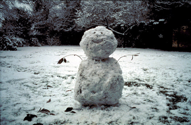 , 'Snowman, Priory Hospital, London,' 2002, Fraenkel Gallery