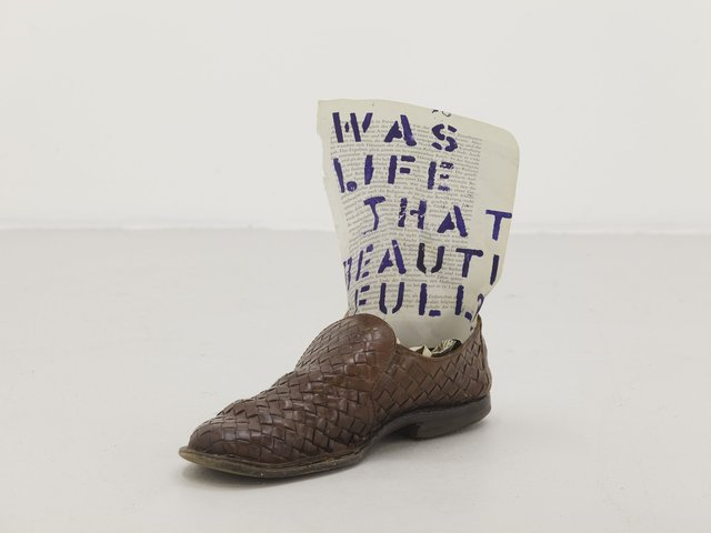 , 'Was life that beautiful?,' 2013, WORKPLACE