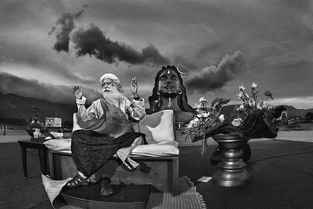 , 'Sadguru Jaggi Vasudev- Coimbatore,' 2017, PHOTO IS:RAEL