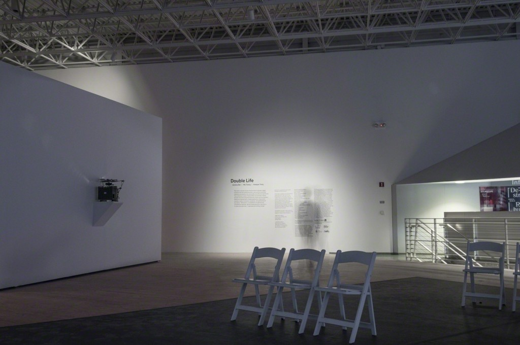 "Installation view of ""Double Life"" at the Contemporary Arts Museum Houston, 2014-15. Photo: Paul Hester. © Contemporary Arts Museum Houston."