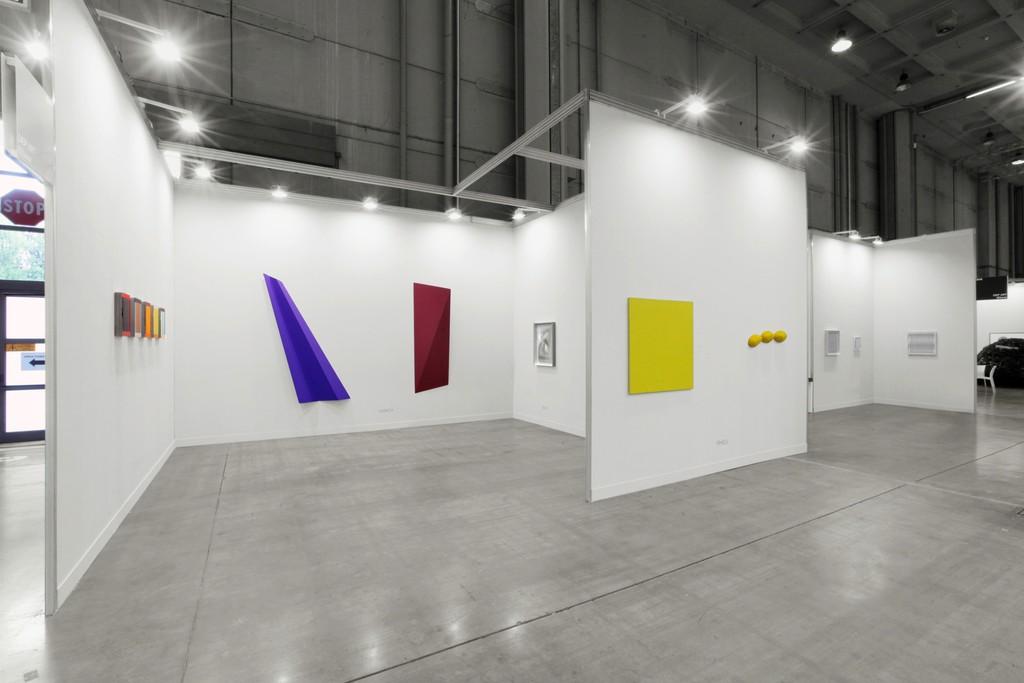 Imi Knoebel, Wolfram Ullrich, Alberto Biasi, Pino Pinelli, Ludwig Wilding. Courtesy Dep Art photo by Bruno Bani