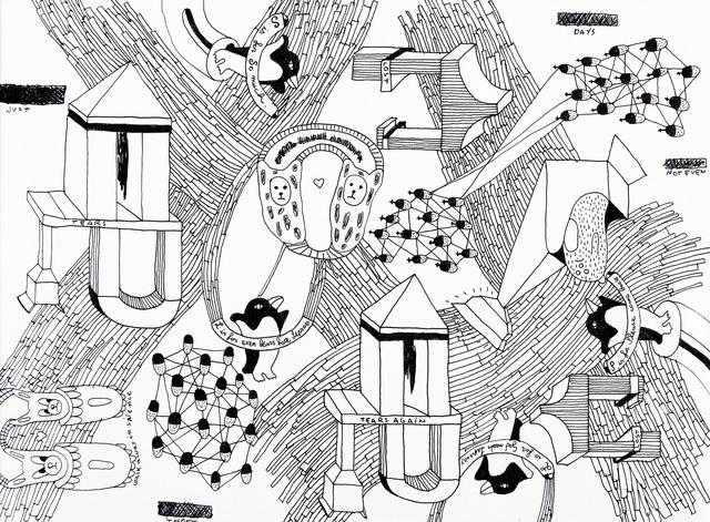 Nico Vascellari, 'Tears and tears again', Martini Studio d'Arte