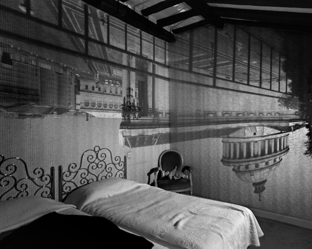 , 'Camera Obscura: The Pantheon in the Hotel des Grands Hommes,' 1999, Huxley-Parlour