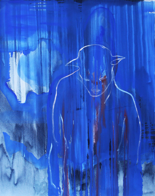, 'Blue Dog ,' 2017, Arusha Gallery