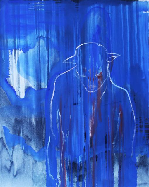, 'Blue Dog ,' 2017, Arusha Gallery
