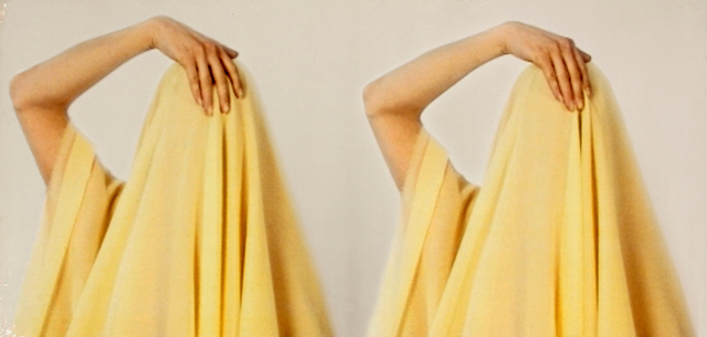Maïmouna Guerresi, 'Yellow Veileo. Frame Vergine delle rocce', 2000, Print, Lambda print, Ambrosiana Casa d'Aste