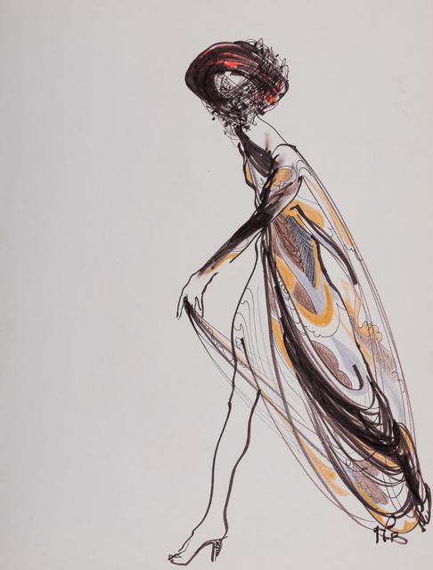 , 'Pucci,' 1990, Gray M.C.A