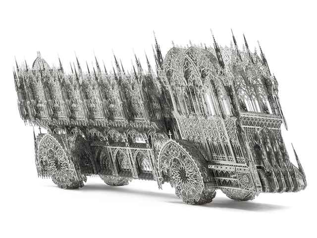, 'Slanted Dump Truck,' 2012, Bernier/Eliades