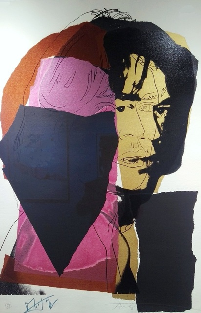 , 'Jagger (Signed by Mick Jagger & Andy Warhol, FSII.139),' 1975, Reuben Colley Fine Art