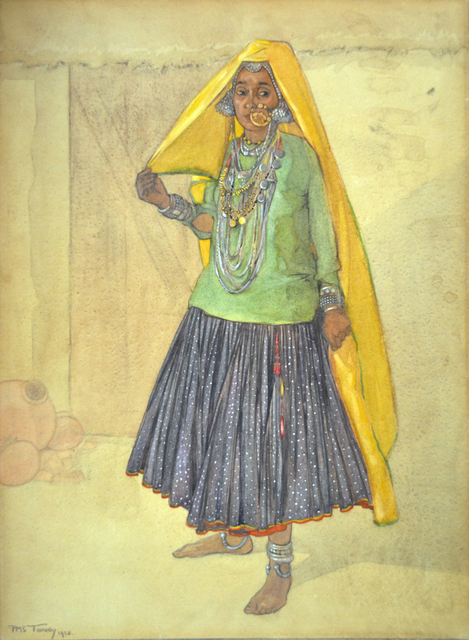 , 'Untitled,' 1928, Swaraj Art Archive