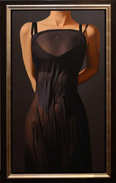 Willi Kissmer, 'Morgennebel II - Morning Mist', 2012, Painting, Original oil on board, Off The Wall Gallery