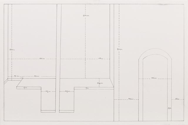 , 'Measuring Walls,' 1998-2014, Gallery Isabelle van den Eynde