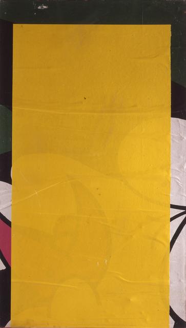 , 'Giallo-bianco-nero,' 1980, CARDI GALLERY
