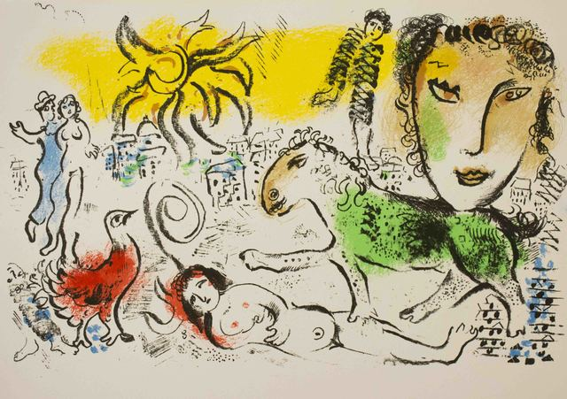 Marc Chagall, 'Homecoming from Xe Siecle', 1973, The Munn Collection