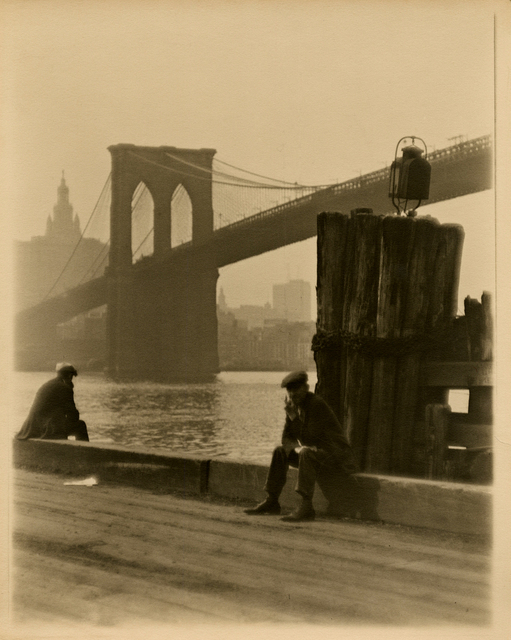 , 'Under the Brooklyn Bridge,' 1920-1922, Be-hold