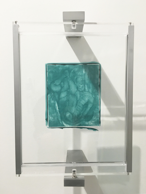 , 'Woodburytype Print of Study Plate 2, Autopsy - (green),' 2015, TJ Boulting