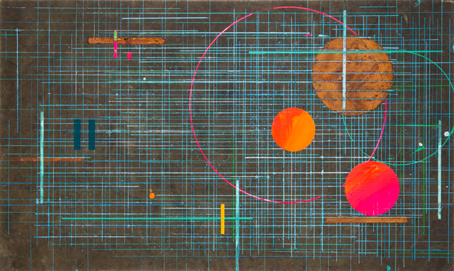 José Bechara, 'Bibi Exibida', 2020, Painting, Acrylic, oxidation of cupric and ferrous emulsions on truckload cover, LURIXS: Arte Contemporânea
