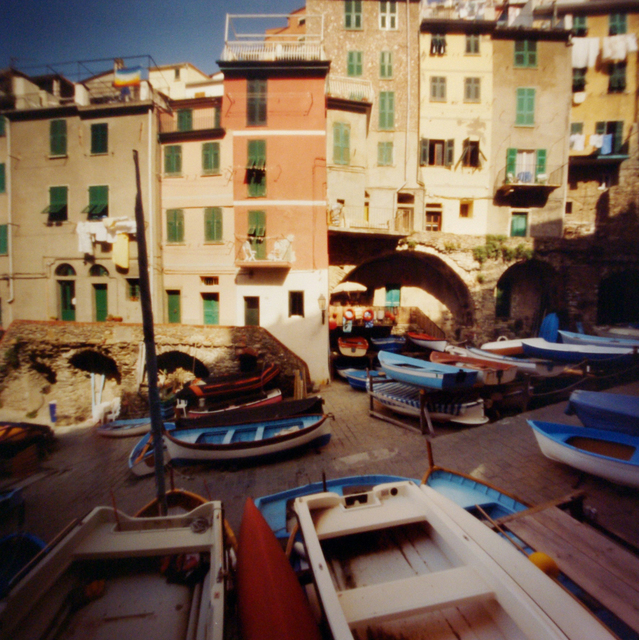, 'Cinque Terra, Riomaggiore, Street & Boats,' 2004, Newzones