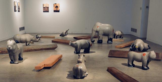 , 'In-Site Installation,' 2018, Aicon Gallery
