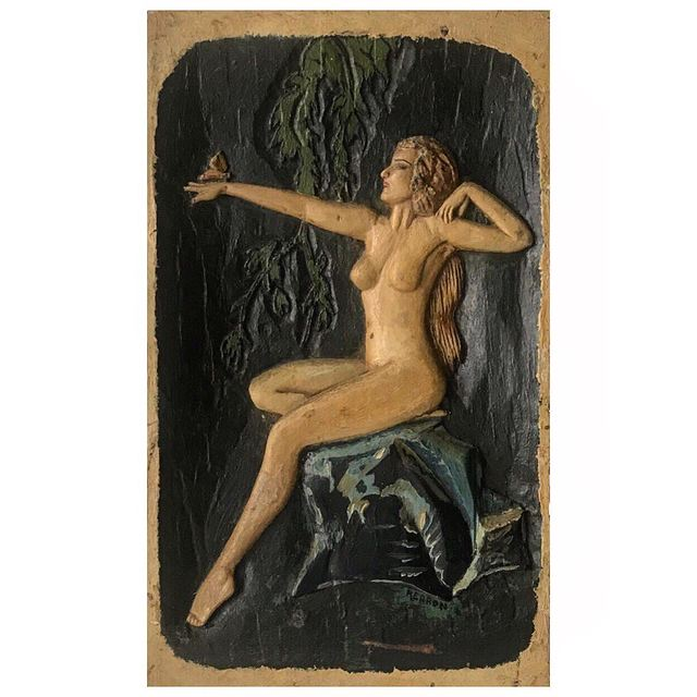 Unknown Artist, 'Nude Woman with a Butterfly', 1920-1930, Ricco/Maresca Gallery