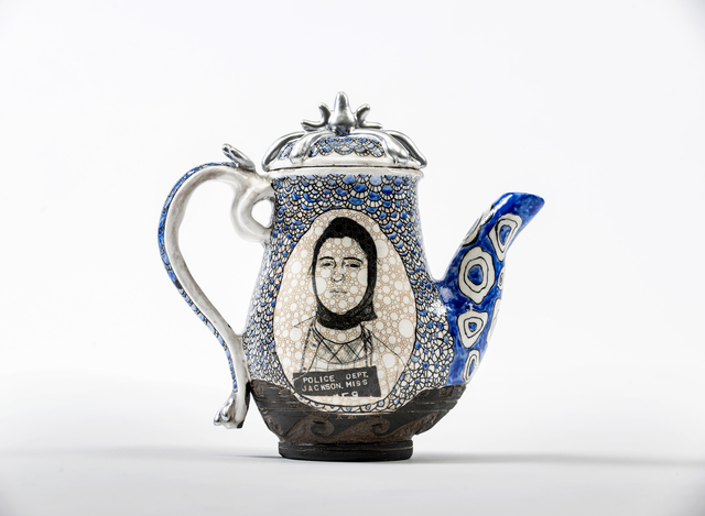 Roberto Lugo, 'Carol Silver from New York, NY (Freedom Riders)', 2019, Wexler Gallery