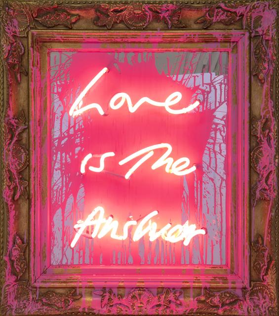 Mr. Brainwash, 'Love is the Answer', 2019, Taglialatella Galleries