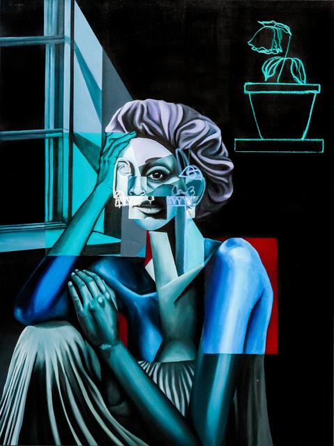 , 'Woman by the Window,' 2018, ABXY